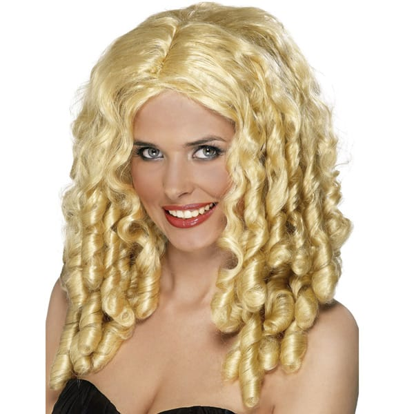 Blonde Film Star Ladies Long Wig
