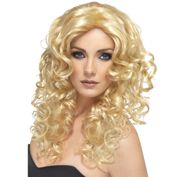 Blonde Glamour Ladies Long Wig