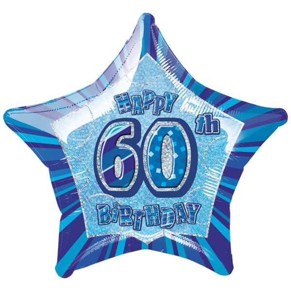 Blue-Glitz-Age-60-Happy-Birthday-20-Inch-Prismatic-Foil-Balloon-product-image