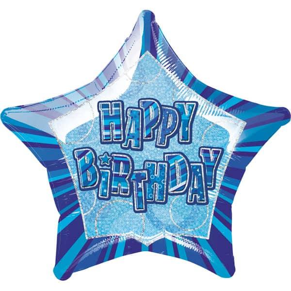 Blue-Glitz-Happy-Birthday-20-Inch-Prismatic-Foil-Balloon-product-image
