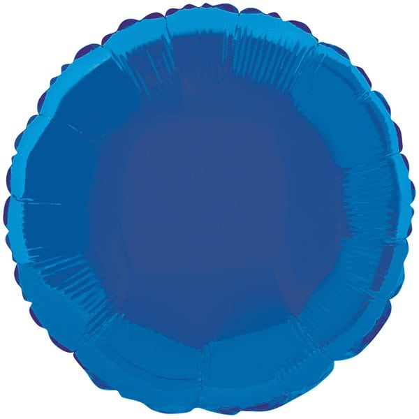 Blue-Round-18-Inch-Foil-Balloon-product-image