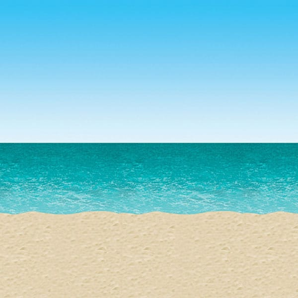 Blue-Sky-Sand-and-Ocean-Scene-Setters-Room-Roll-image