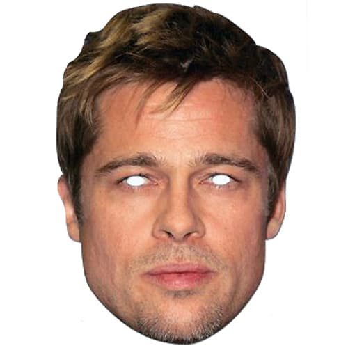 Brad Pitt Cardboard Face Mask Product Image