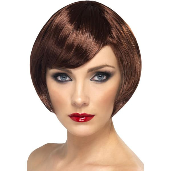 Brown Babe Ladies Short Wig