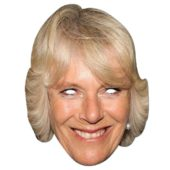 Camilla Parker Bowles Cardboard Face Mask
