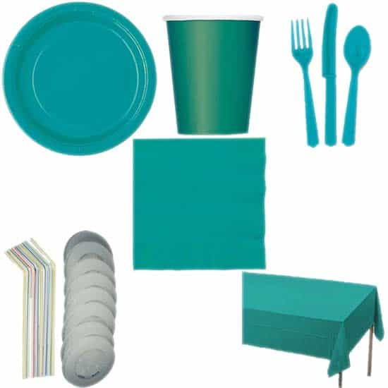 Caribbean-Teal-Colour-8-Person-Deluxe-Party-Pack.jpg