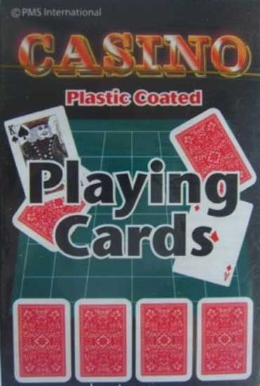 Casino Plastic Coated Playing Cards Product Image