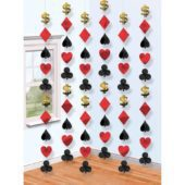 Casino String Decoration – 7 Ft / 213cm – Pack of 6