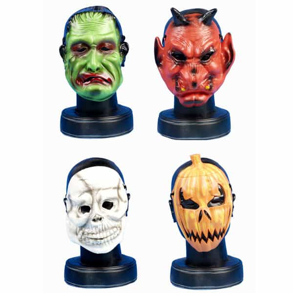 Childrens Halloween Plastic Face Mask