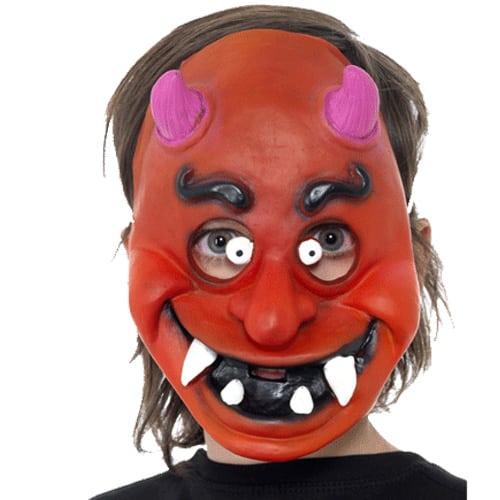 Childrens Devil Face Mask