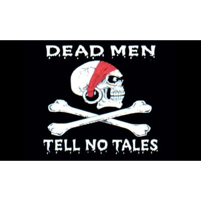 Deadmen Tell No Tales Pirate Flag - 5 x 3 Ft