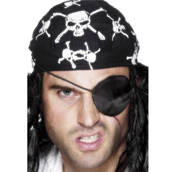 Deluxe Satin Pirate Eye Patch