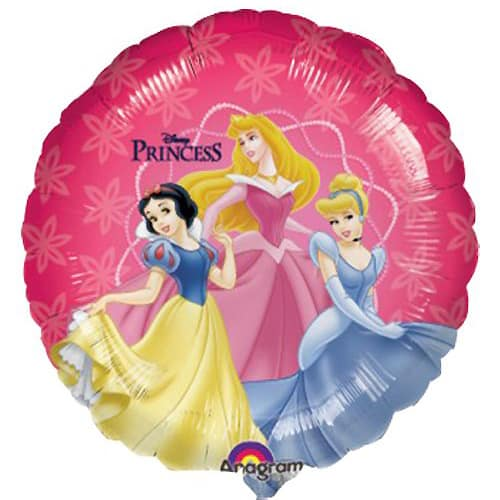 Disney Princess Round Foil Helium Balloon 46cm / 18Inch