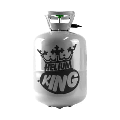 Small Disposable Helium King Gas Cylinder - Fills 30 9inch Balloons Product Image