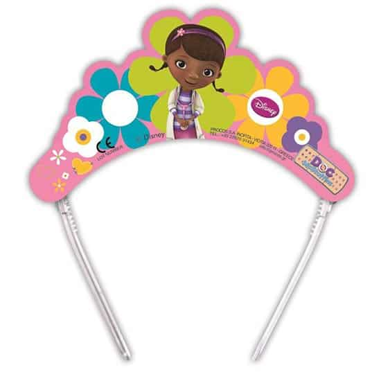 Doc McStuffins Party Tiaras - Pack of 6 Product Image
