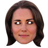 Duchess of Cambridge Cardboard Face Mask