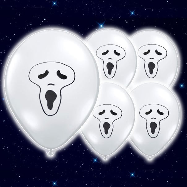 Flashing-Ghost-White-9-Inch-Illoom-Balloons-Pack-of-5-product-image