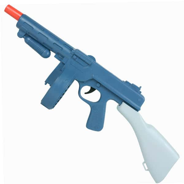 Gangster Plastic Tommy Gun Toy