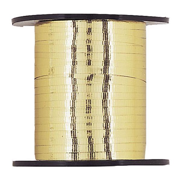 Gold Metallic Curling Ribbon - 250 yd / 228.6m