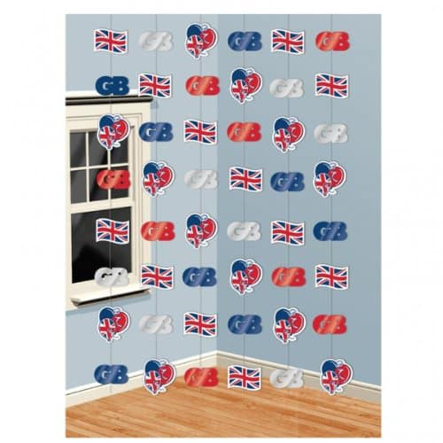 Great-Britain-Theme-String-Decorations-7-Feet-Pack-of-6-image
