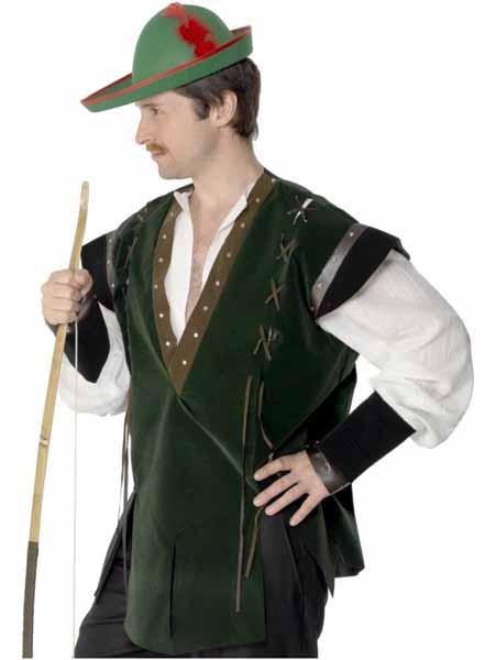 Green Felt Robin Hood Hat