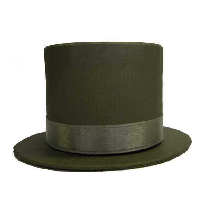 Grey Top Hat Box Wedding Favour