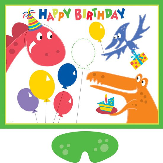 Happy Birthday Balloons Party Game