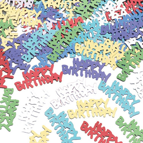 Happy Birthday Table Confetti - 14 Grams Product Image