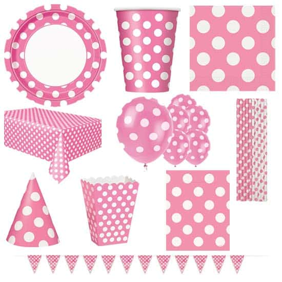 Hot-Pink-Decorative-Dots-8-Person-Deluxe-Party-Pack.jpg