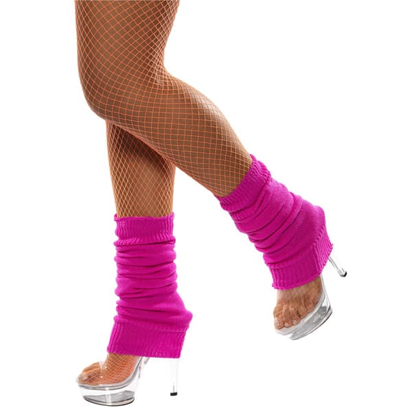 Hot-Pink-Leg-Warmers-Fancy-Dress-Costume-Accessories-product-image