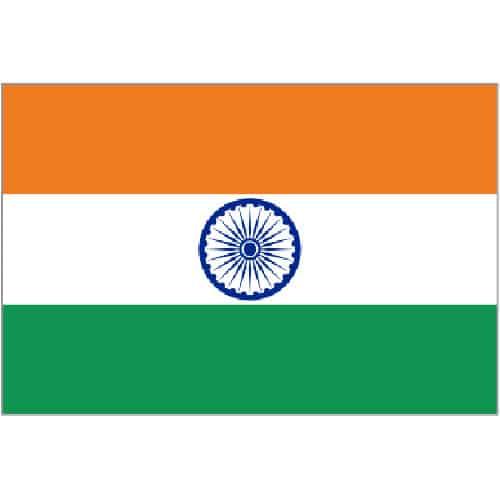India Flag - 5 x 3 Ft