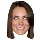 Kate Middleton Cardboard Face Mask