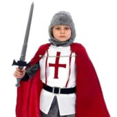 Knight Costume 10 – 12 Years Childrens Fancy Dress