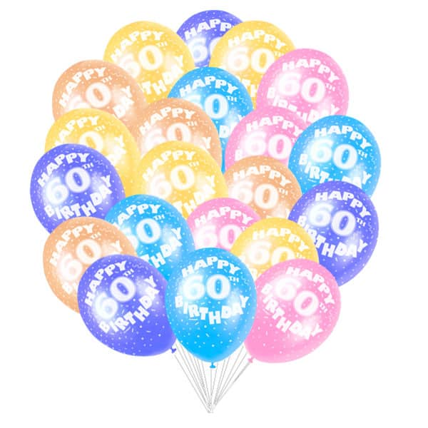 Latex-Balloons-12-Inch-Age-60-Pack-of-50-product-image
