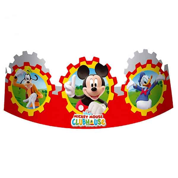 Mickey Mouse Clubhouse Die-Cut Headbands - Pack of 6 Product Image