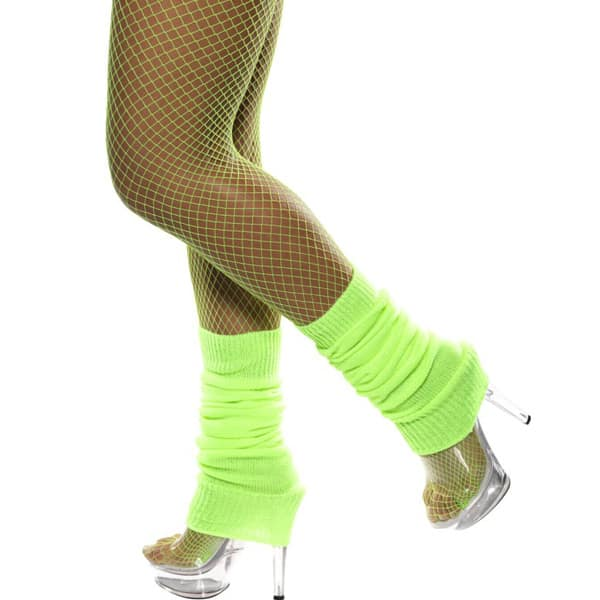 Neon-Green-Leg-warmers-Fancy-Dress-Costume-Accessories-product-image
