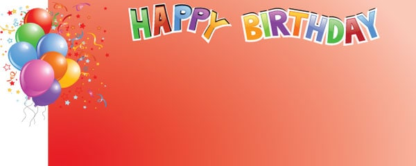 design a birthday banner