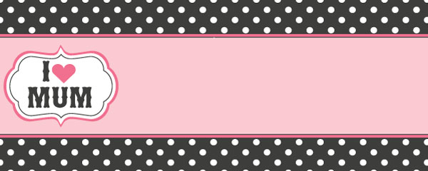 Happy Mothers Day Stars Design Small Personalised Banner - 4ft x 2ft
