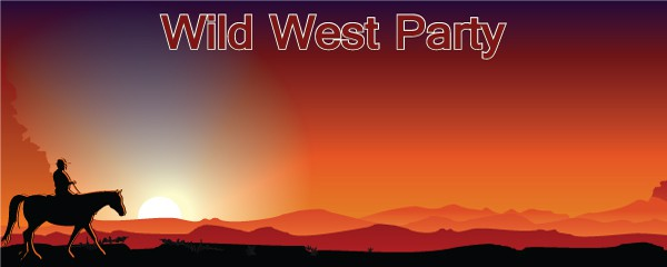 Wild West Personalised Banners