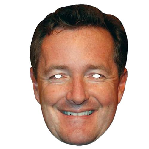 Piers Morgan Cardboard Face Mask Product Image