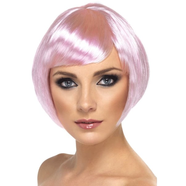 Pink Babe Ladies Short Wig