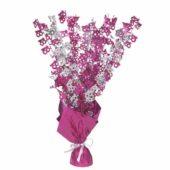 Pink Glitz 18th Birthday Balloon Weight Centrepiece