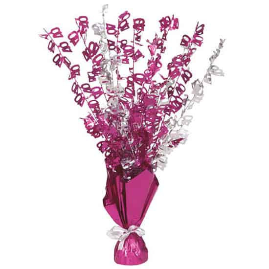 Pink-Glitz-Age-40-Balloon-Weight-Centerpiece-image