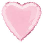 Pink Heart Shape Foil Balloon – 18 Inches / 46 cm