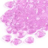 Pink Hearts Premium Table Gems – 28 Grams