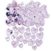 Pink Loving Hearts Table Confetti – 14 Grams