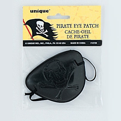 Pirate Black Eye Patch