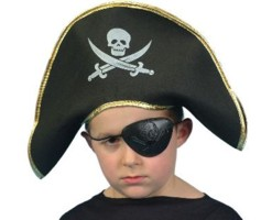 Childrens EVA Pirate Captain Hat
