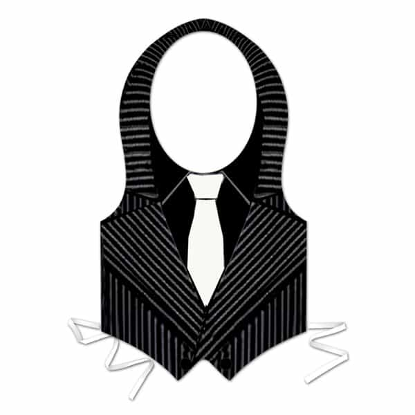 Plastic-Gangster-Vest-with-Ties-product-image