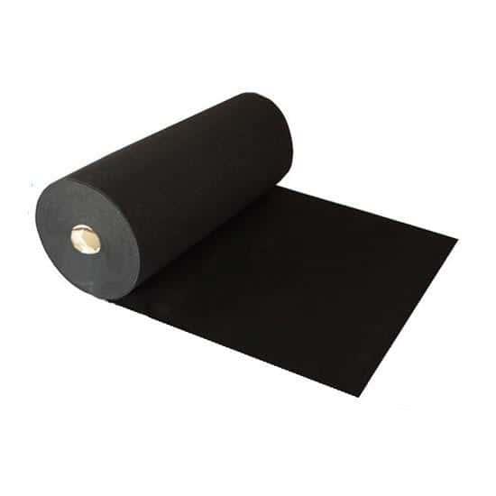 1 Metre Prestige Heavy Duty Black Carpet Runner